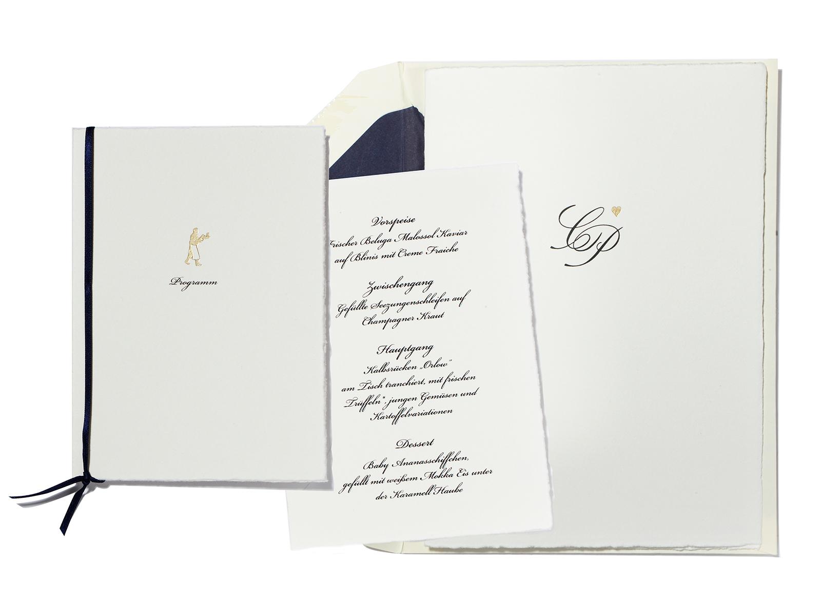 Hochzeitskarten-Sets