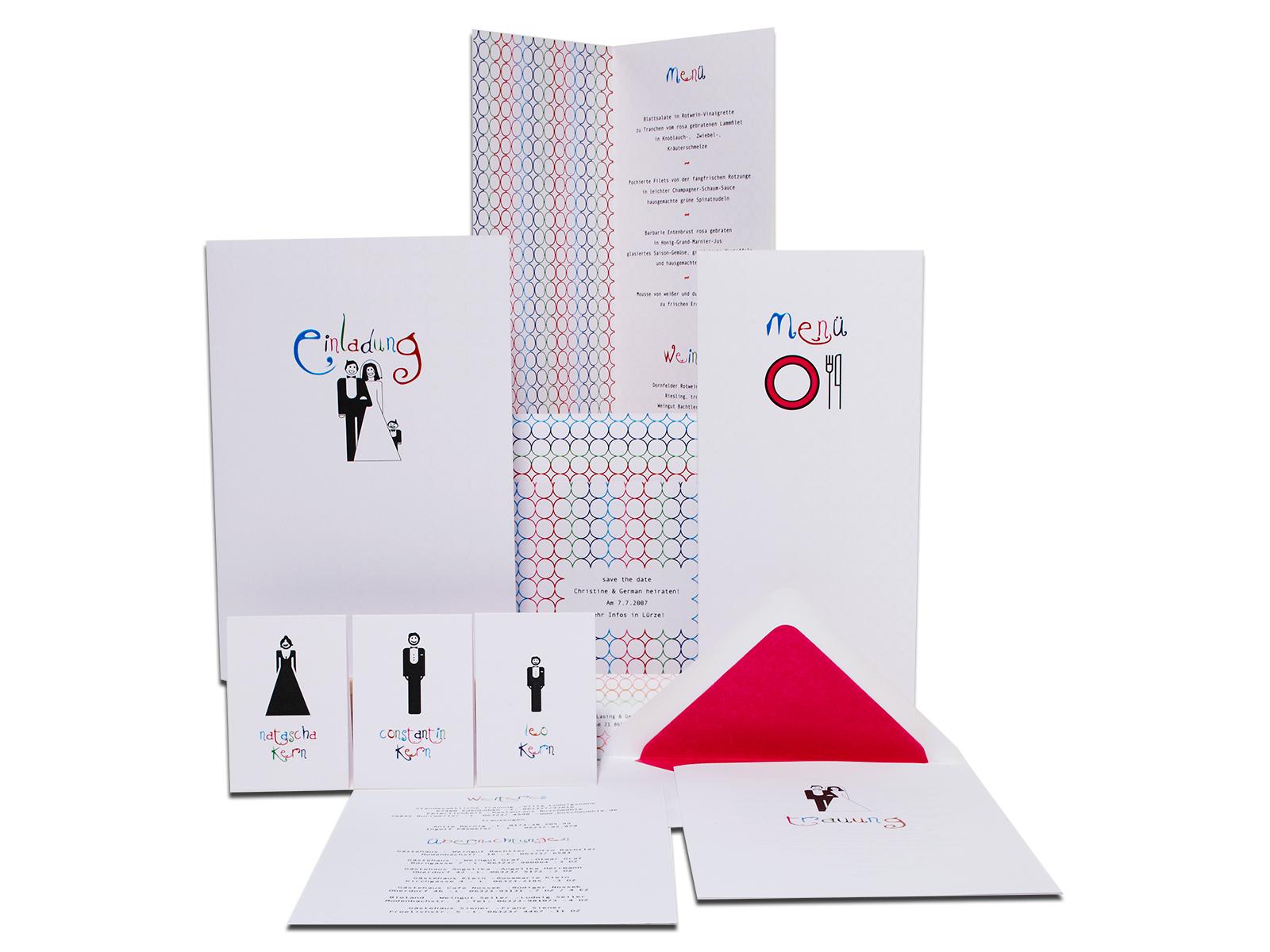 Hochzeitskarten Hochzeitspapeterie Einladungskarten
