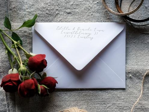 Absender Briefumschlag