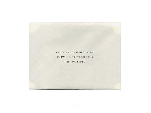 Briefumschläge ab 25 Stück bedrucken lassen.