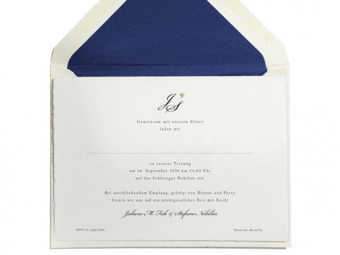 Royale Einladung