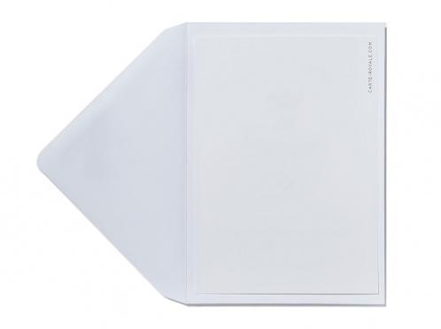 Save-the-Date Karten mit Jagdhorn gedruckt auf italienischem Feinstpapier.