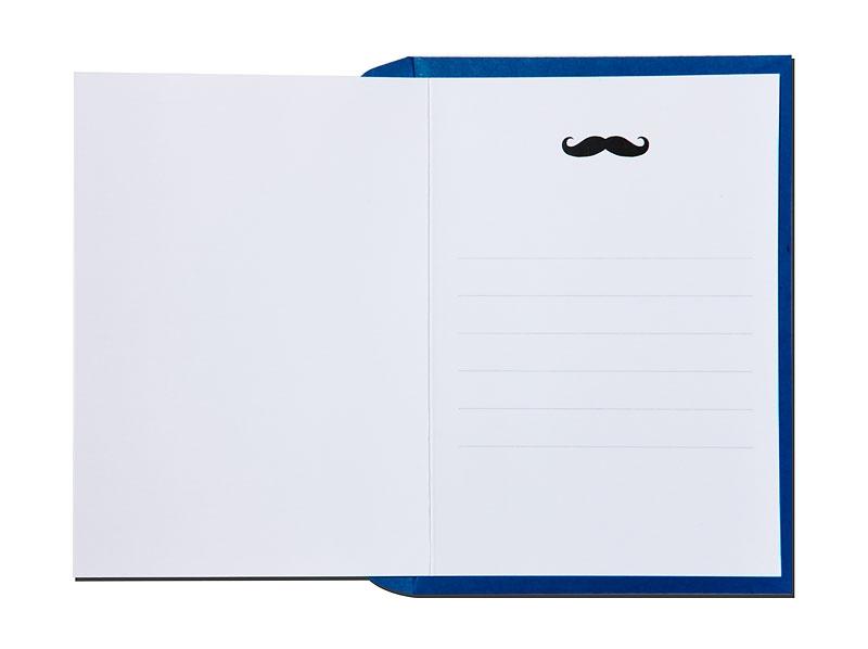Karte Moustache