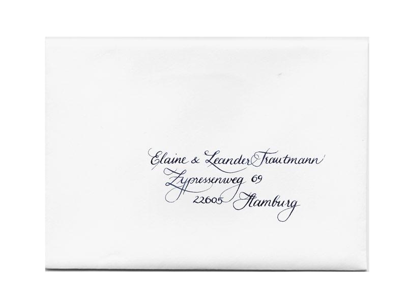 Einladungen Hochzeit Umschlage Beschriften