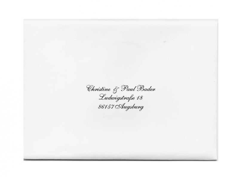 Briefumschlag Briefumschläge Bedrucken