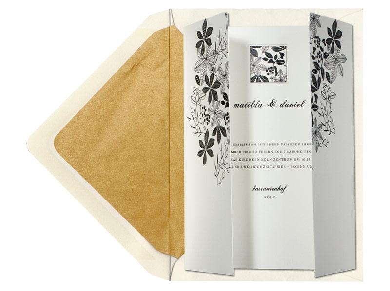 Edle Einladungen Zum Herbst Herbst Hochzeit