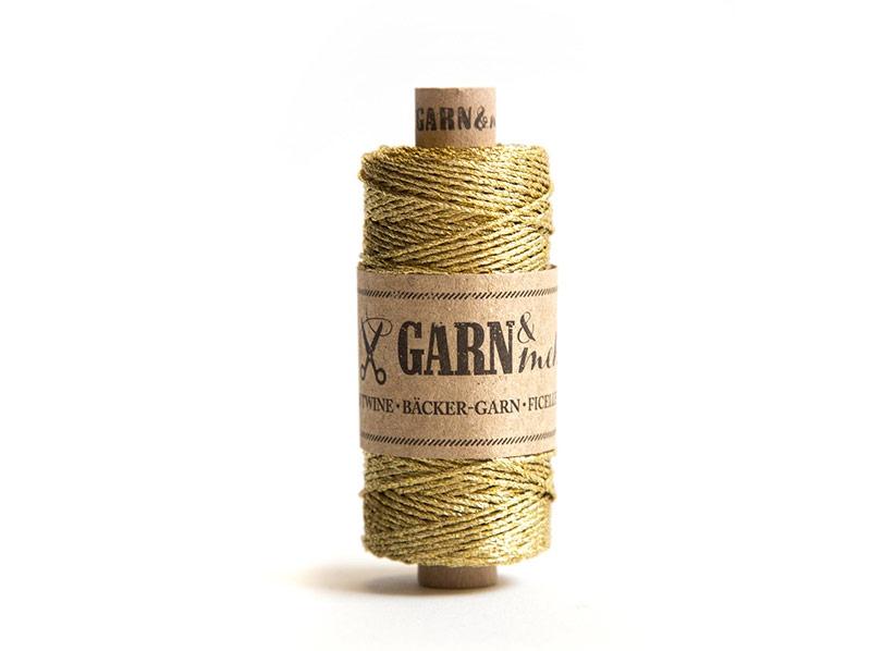 Metallic-Garn, Gold