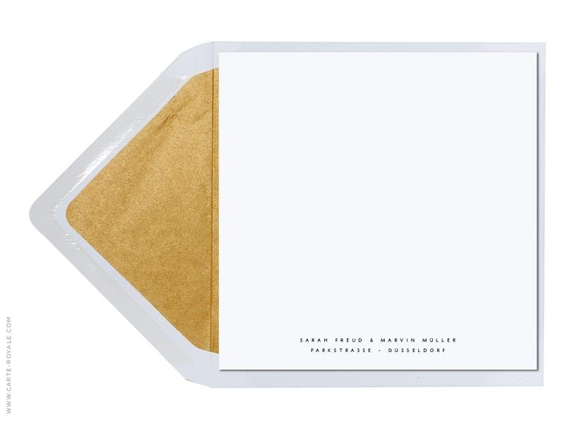 ... » Hochzeit » Hochzeitseinladungskarten » Winterzauber Gold