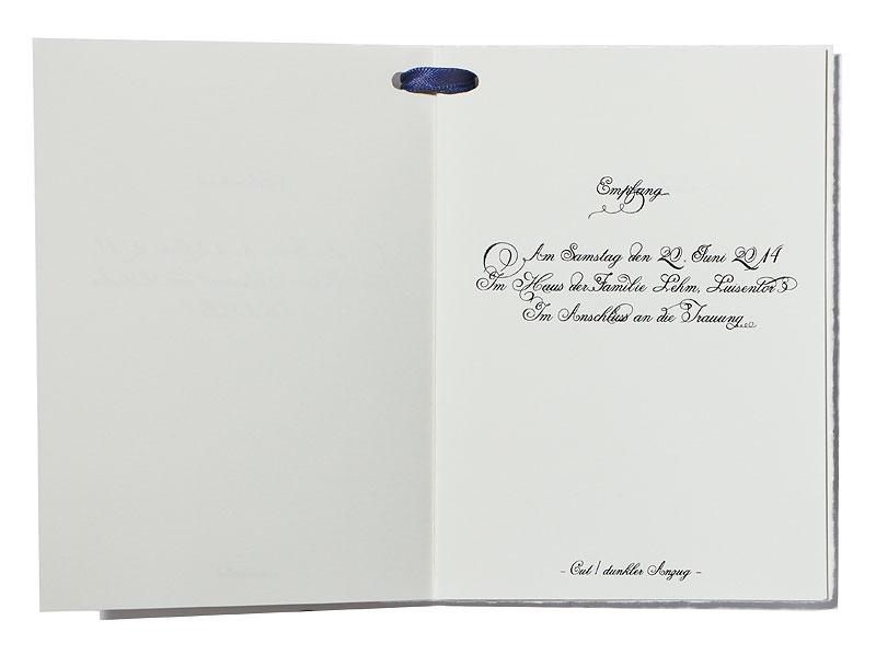 Charmant Empfang Hochzeits Programm Bilder - Brautkleider Ideen ...