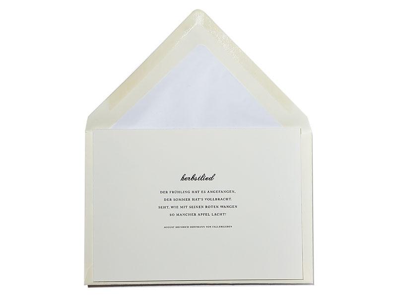 Save The Date Herbst Blaetter Hochzeit Einladung
