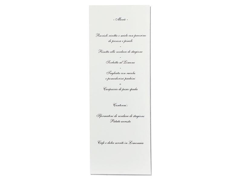 Tisch- & Menükarte